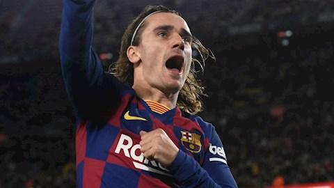 Griezmann muốn thay Suarez đá cắm ở Barca hình ảnh