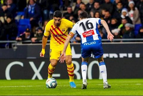 Espanyol 2-2 Barca Mất điểm cay đắng ở derby, Blaugrana vô địch lượt đi trong âu lo hình ảnh 2