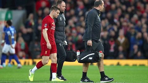 Milner chấn thương sau trận thắng Everton hình ảnh
