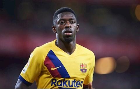 HLV Barca tù mù người thay thế Ousmane Dembele bị chấn thương hình ảnh