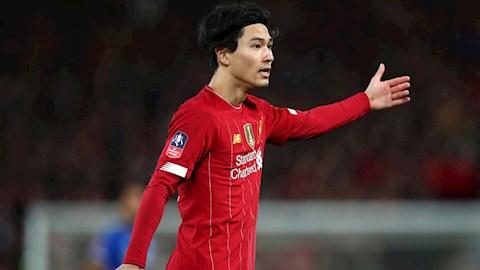 Tân binh Minamino nói gì sau khi ra mắt Liverpool hình ảnh