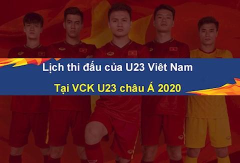 Lịch thi đấu U23 Việt Nam (U23 châu Á) ngày nào đá, kênh gì hình ảnh