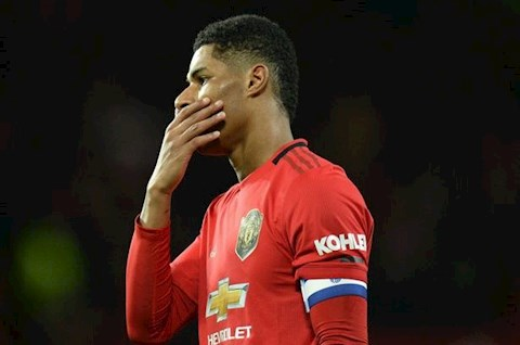 Man Utd 1-3 Man City Rashford ghi ban