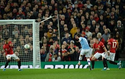 Man Utd 1-3 Man City Silva lap cu dup