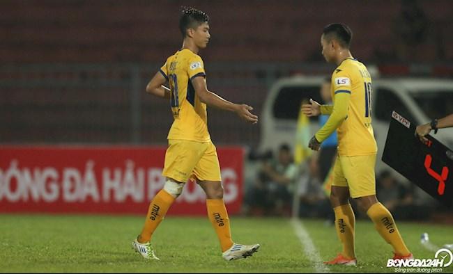 Phan Van Duc Hai Phong vs SLNA