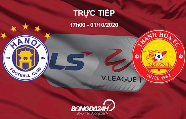 Trực tiếp Hà Nội vs Thanh Hóa vòng 13 V-League 2020 hình ảnh