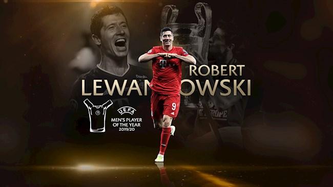 Lewandowski xuất sắc nhất châu Âu, Bayern thống trị giải thưởng hình ảnh