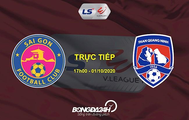 Sài Gòn vs Quảng Ninh link xem trực tiếp VLeague 1102020 hình ảnh