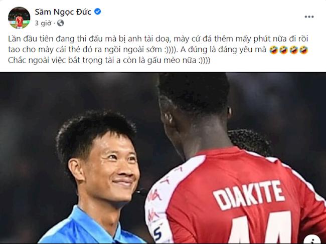Đội trưởng TP HCM bóc phốt trọng tài ở trận gặp Hà Nội FC  hình ảnh