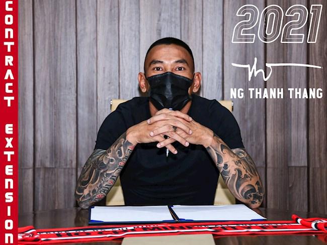 Thủ môn Nguyễn Thanh Thắng được gia hạn hợp đồng hình ảnh