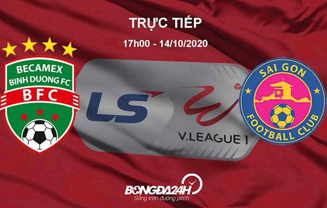 Trực tiếp bóng đá Bình Dương vs Sài Gòn link xem ở kênh nào hình ảnh