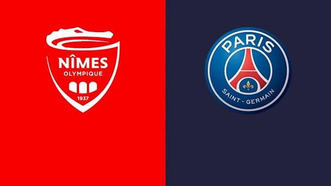 Nimes vs PSG