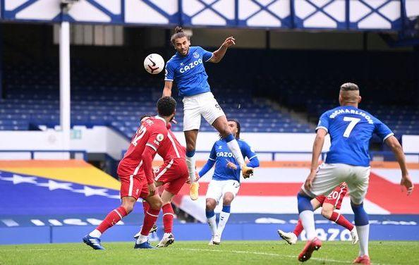 Everton 2-2 Liverpool Dominic Calvert-Lewin ghi ban