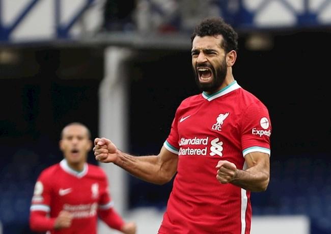 Tiền đạo Mohamed Salah cán mốc 100 bàn cho Liverpool hình ảnh