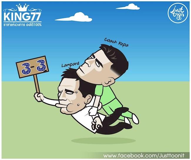 Biếm họa Bruno cứu Ole, Ibrahimovic ăn tươi nuốt sống Lukaku hình ảnh