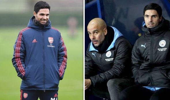 Arsenal cua Arteta se them mot lan dung do Man City cua Pep