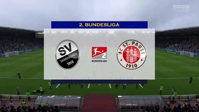 Sandhausen vs St.Pauli