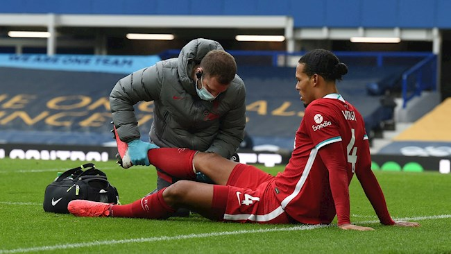 Liverpool vẫn có thể giành danh hiệu dù thếu Virgil Van Dijk hình ảnh