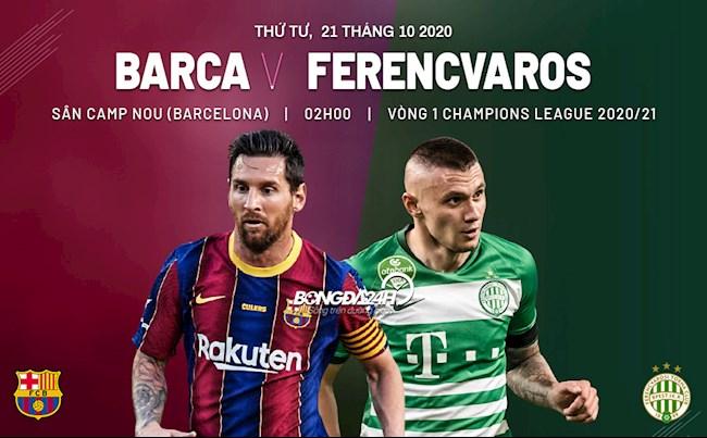 Barca vs Ferencvaros nhan dinh