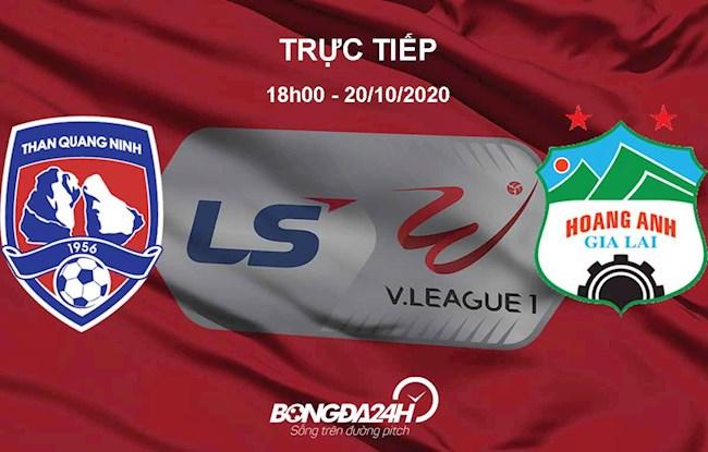 Trực tiếp bóng đá Quảng Ninh vs HAGL V-LEague 2020 hôm nay hình ảnh