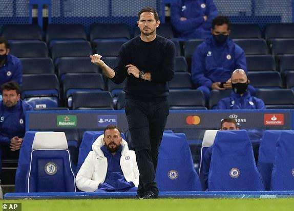 HLV Frank Lampard phát biểu sau trận Chelsea vs Sevilla hình ảnh