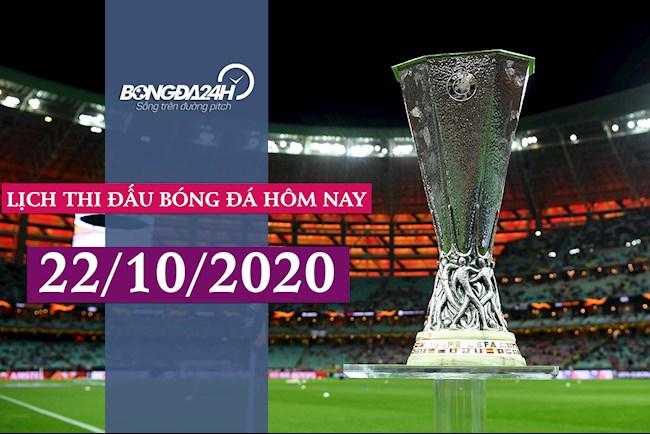 Lịch thi đấu bóng đá hôm nay 2210 Vòng bảng Cúp C2 202021 hình ảnh