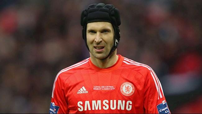 Lampard tiết lộ lý do đăng ký Cech vào danh sách thi đấu hình ảnh