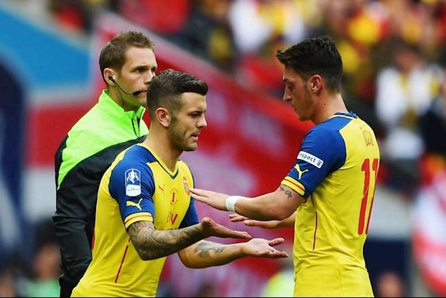 Vì tiền vệ Mesut Ozil, Wilshere chỉ trích Arsenal dữ dội hình ảnh