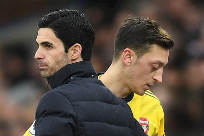 Rodgers ủng hộ quyết định trảm Ozil của Arteta hình ảnh