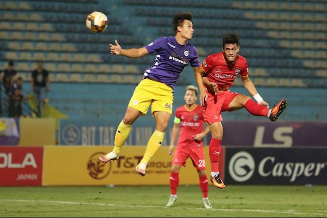 Tiến Linh ăn mừng cực chất sau khi đánh đầu tung lưới Hà Nội FC hình ảnh 2