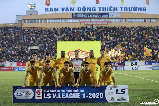 Trận SLNA vs Nam Định không bị hoãn hình ảnh