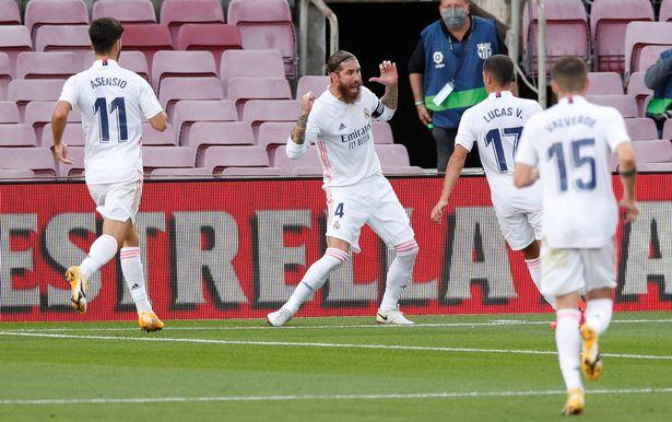 Barca vs Real Madrid 1-3 Ramos trở lại, giải cứu Zidane hình ảnh