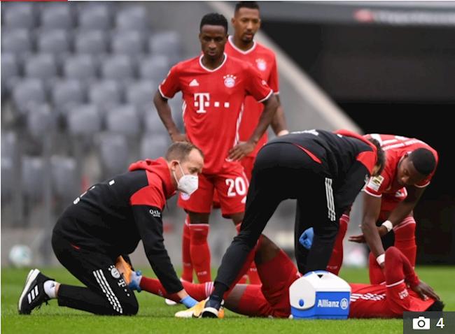 Dính chấn thương nặng, máy chạy của Bayern rời sân trong nước mắt hình ảnh 2