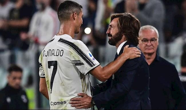 Andrea Pirlo tiết lộ kế hoạch sử dụng Ronaldo tại Juventus hình ảnh