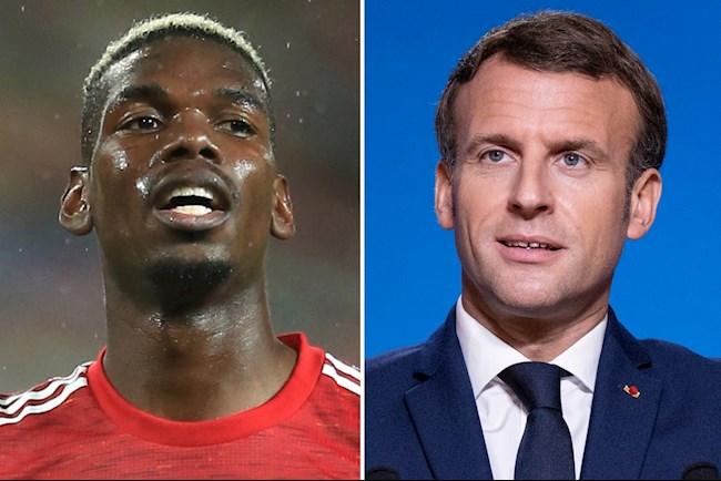 Rộ tin Paul Pogba từ giã ĐT Pháp vì Tổng thống Macron hình ảnh