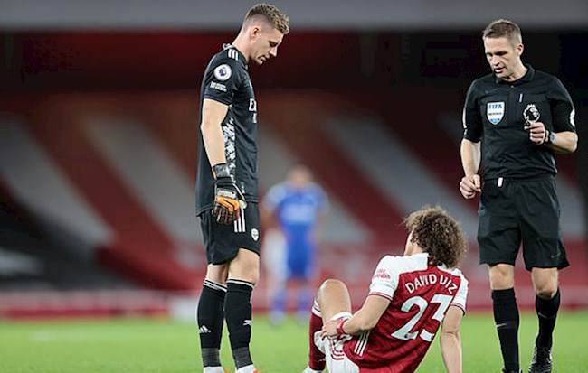 Thua Leicester, đội hình Arsenal còn mất 2 trụ cột hình ảnh