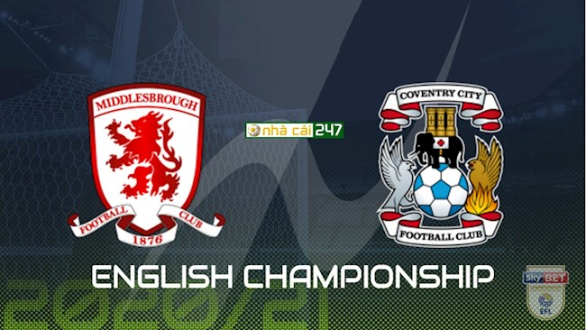 Middlesbrough vs Coventry