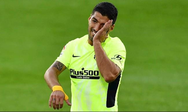 Luis Suarez có đủ thể lực ra sân cho Atletico giữa tuần này hình ảnh