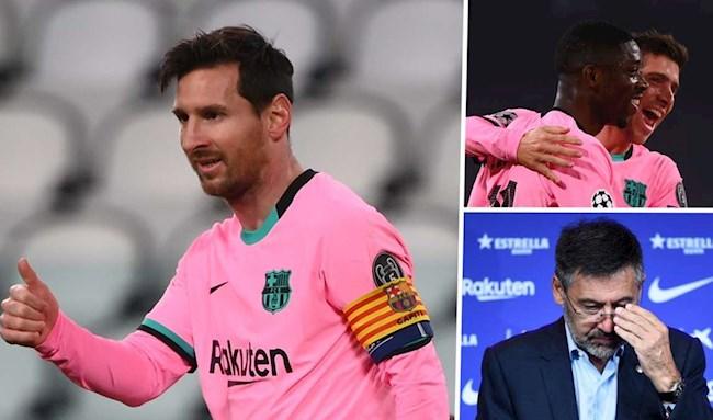 Juventus vs Barca 0-2 Khởi đầu hoàn hảo hậu Bartomeu hình ảnh