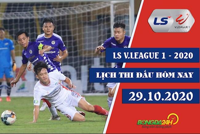 Lịch thi đấu bóng đá Việt Nam hôm nay 2910 VLeague 2020 hình ảnh