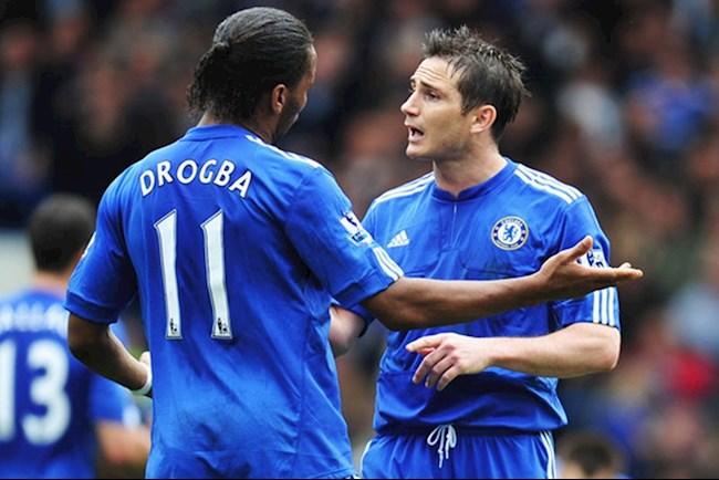 Lampard và Drogba từng hậm hực nhau vì tranh đá pen hình ảnh