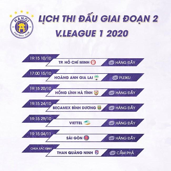 CLB Hà Nội được đá 5 trận sân nhà ở giai đoạn 2 hình ảnh