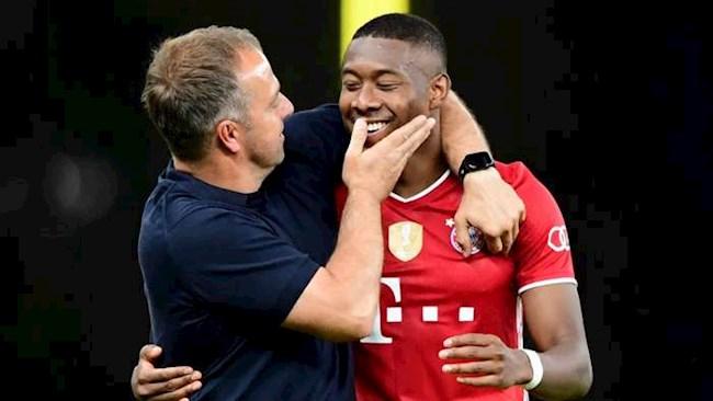 HLV Flick hy vọng Alaba sẽ ở lại Bayern hình ảnh
