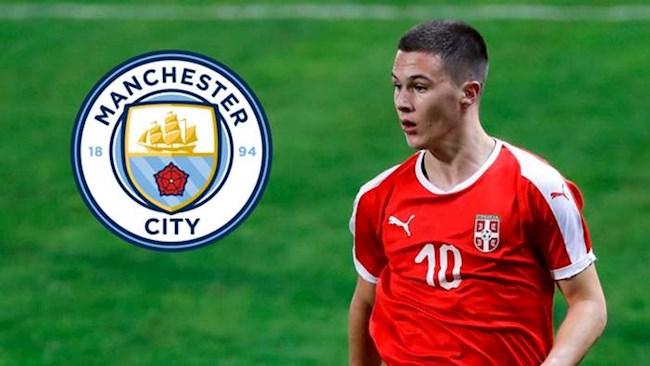 Man City chiêu mộ sao trẻ Filip Stevanovic hình ảnh
