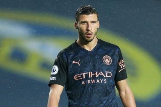 Trung vệ Ruben Dias ră mắt Man City trước Leeds hình ảnh