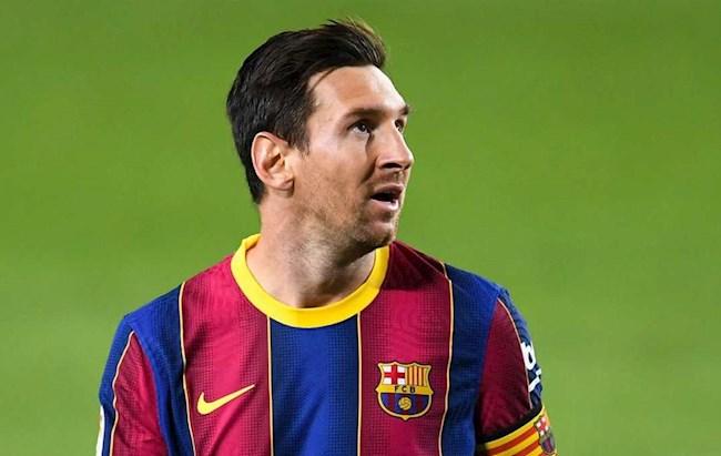 HLV Argentina nói gì về việc Lionel Messi buộc phải ở lại Barca hình ảnh