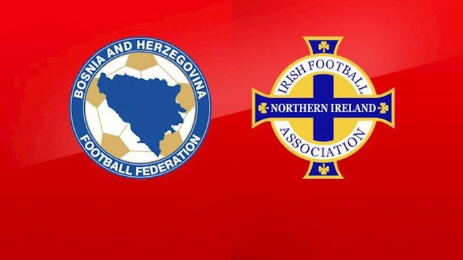 Bosnia vs Bac Ireland