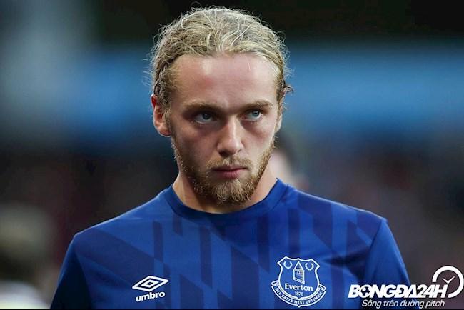Tiểu sử cầu thủ Tom Davies tiền vệ của câu lạc bộ Everton hình ảnh