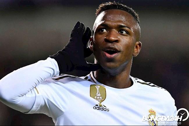 Tiểu sử cầu thủ Vinicius Junior tiền đạo của CLB Real Madrid hình ảnh