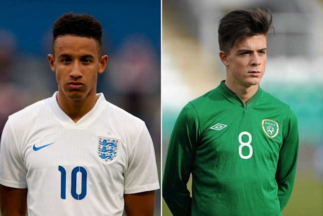 Anh vs Ireland: Giấc mơ có thực của bộ đôi Jack Grealish - Callum Robinson